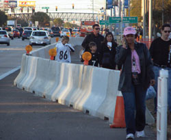 J-J Hooks Barriers at Super Bowl